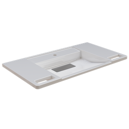 Franke Single washbasin made of resin-bonded mineral composite EXOS. 900 mm wide – Bild 1