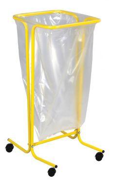 Rossignol Tubag Müllsackhalter 110L auf Rollen aus Stahl in 4 Farben erhältlich – Bild 3