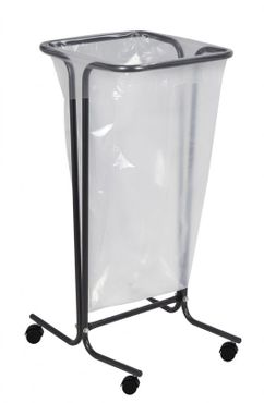 Rossignol Tubag Müllsackhalter 110L auf Rollen aus Stahl in 4 Farben erhältlich – Bild 4