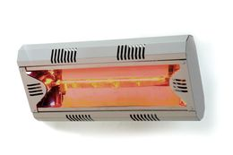 Moel Hathor infrared patio heater 791 made of aluminium with 2000 watt for wall mounting – Bild 2