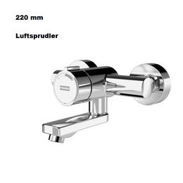 Franke F3S-Mix self-closing wall-mounted mixer Aerator F3SM1007 DN 15 Projection 220 mm – Bild 1