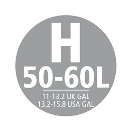 50-60 Liter-Abfallbeutel mit Kordelzug (H), Brabantia Weiß – Bild 2