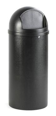 Marshal Container 56,8 Liter, Rubbermaid Schwarz – Bild 3
