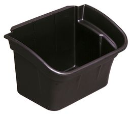 Material Bucket, Rubbermaid black
