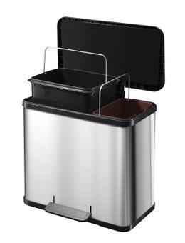 Öko Duo Plus L 17 + 9 Liter, Hailo – Bild 4