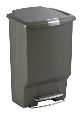 Rectangular Plastic Step Can, Simplehuman