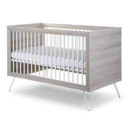 Childhome Ironwood Ashen Cot Bed 70X140 + Slats – Bild 1
