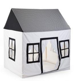 Childhome Cotton Big House Black&White 125X95X145