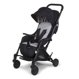 Childhome New T-Compact Black Stroller + Rc + Mc Adapter – Bild 1