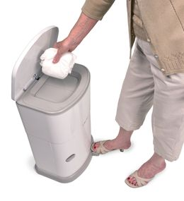 Janibell® Akord diaper pail 41L for discreet adult brief disposal – Bild 9