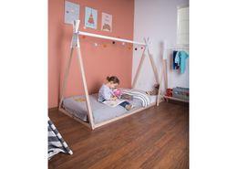 TIPI BED NAT/WIT Childhome B140TIPI, B200TIPI – Bild 2