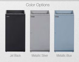 Janibell® elegant waste bin T450 in 94L available in 2 different colors – Bild 3