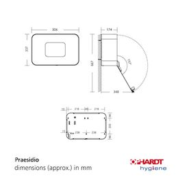 "Disinfection unit ""Praesidio"" with or without stand from Ophardt – Bild 5"