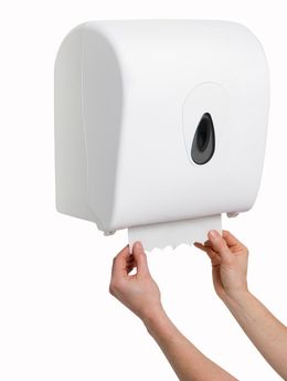 Hand towel roll dispenser 14170 from PlastiQline – Bild 3