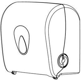 Mini Handtuchrollenspender 14170 aus Kunststoff von PlastiQline  – Bild 5