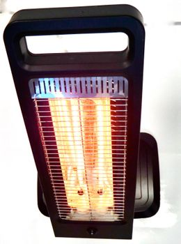 Moel Guadalupa IR-Heater 784G with 1200 watt and with remote control  – Bild 3