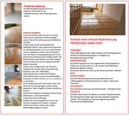 Self-regulating infrared floor heating Nano-Heat from Elbo Therm – Bild 4