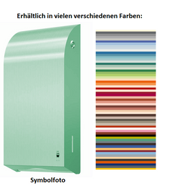 Dan Dryer Exclusive paper towel dispenser in a wide range of colors