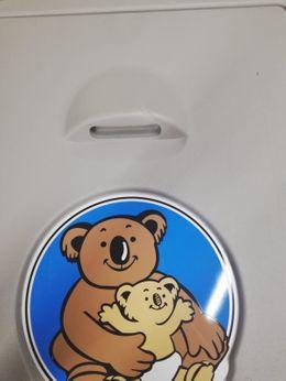 B-Ware Koala Klappbare Wickelstation KB-101-01 Vertikal MICROBAN® Hygieneschutz – Bild 2
