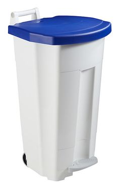 Mobily mobile waste bin 120 liters with a pedal and a transport handle Rossignol – Bild 3