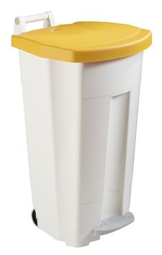 Mobily mobile waste bin 120 liters with a pedal and a transport handle Rossignol – Bild 4
