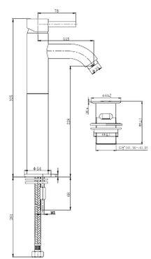 Basin tap Cadans XL by Wiesbaden in stainless steel or-chromelook  – Bild 3