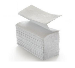 Paper towels 10133 W-Interfold - carton - 2 ply made of cellulose
