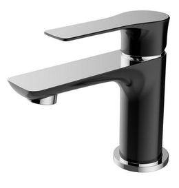 Basin tap Casma by Wiesbaden in black, white or-chromelook  – Bild 3