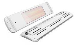 Moel Aaren Infrared Heater 1800W with Wall bracket, dimmer + remote control in 2 colors – Bild 1