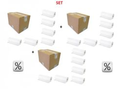 Super discount set - 3 Boxes x 6 Paperrolls Economic - Very hygienic – Bild 1