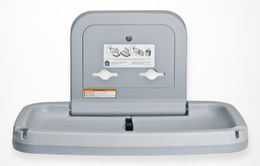 NEW Koala Baby Changingstation KB-200-01 Horizontal Grey with MICROBAN® Technology – Bild 2