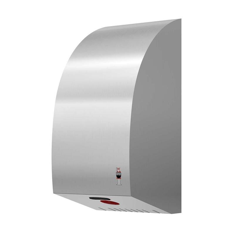 Dan Dryer Turbo hand dryer 1600W made of brushed stainless steel ...