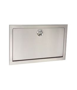 Stainless Steel Koala Changing Station KB110-SSRE Horizontal Recessed Mounted – Bild 2