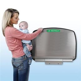 Baby Changing Unit Stainless Steel and aluminium - Stylish and very high quality – Bild 4