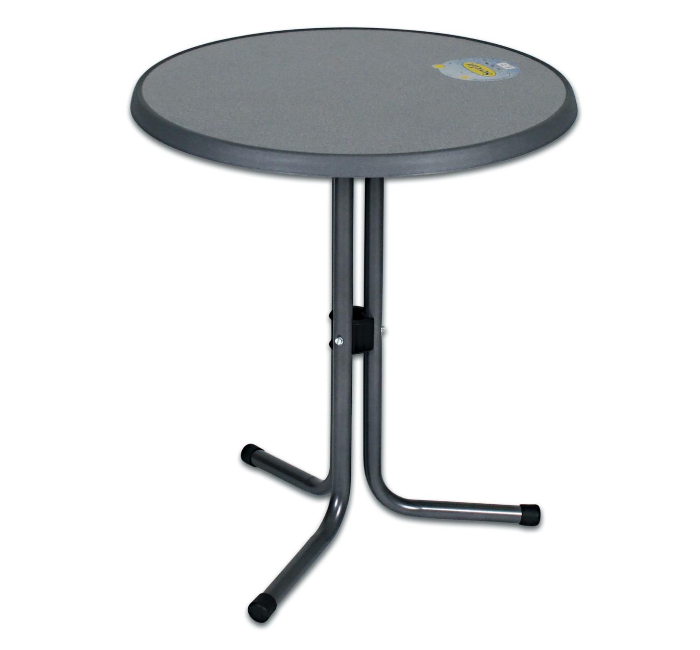 bistrotisch mit 60 cm sevelit tischplatte gartenm bel tische. Black Bedroom Furniture Sets. Home Design Ideas