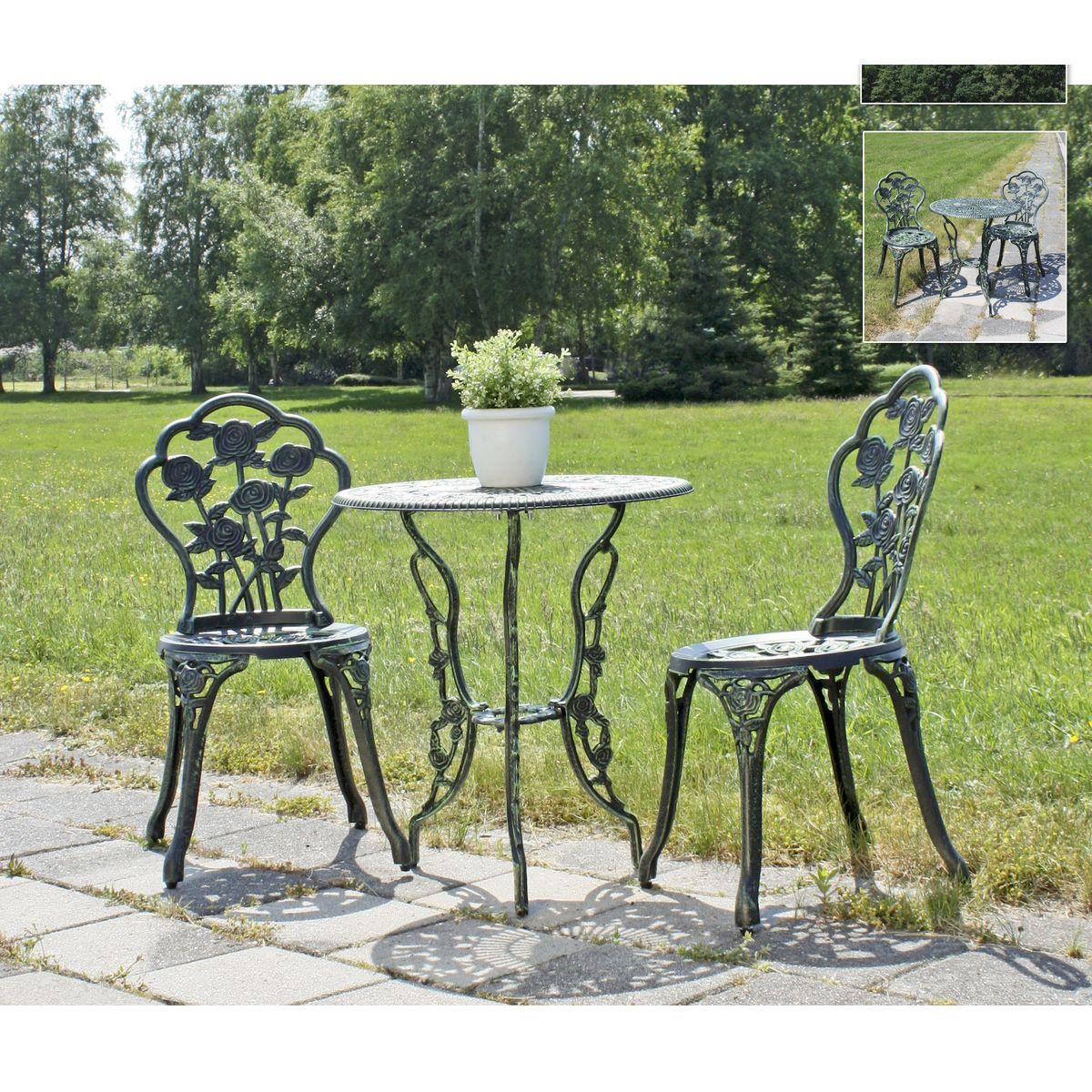 balkonset balkonm bel balkontisch bistroset sitzgruppe gartenset gartenm bel ebay. Black Bedroom Furniture Sets. Home Design Ideas