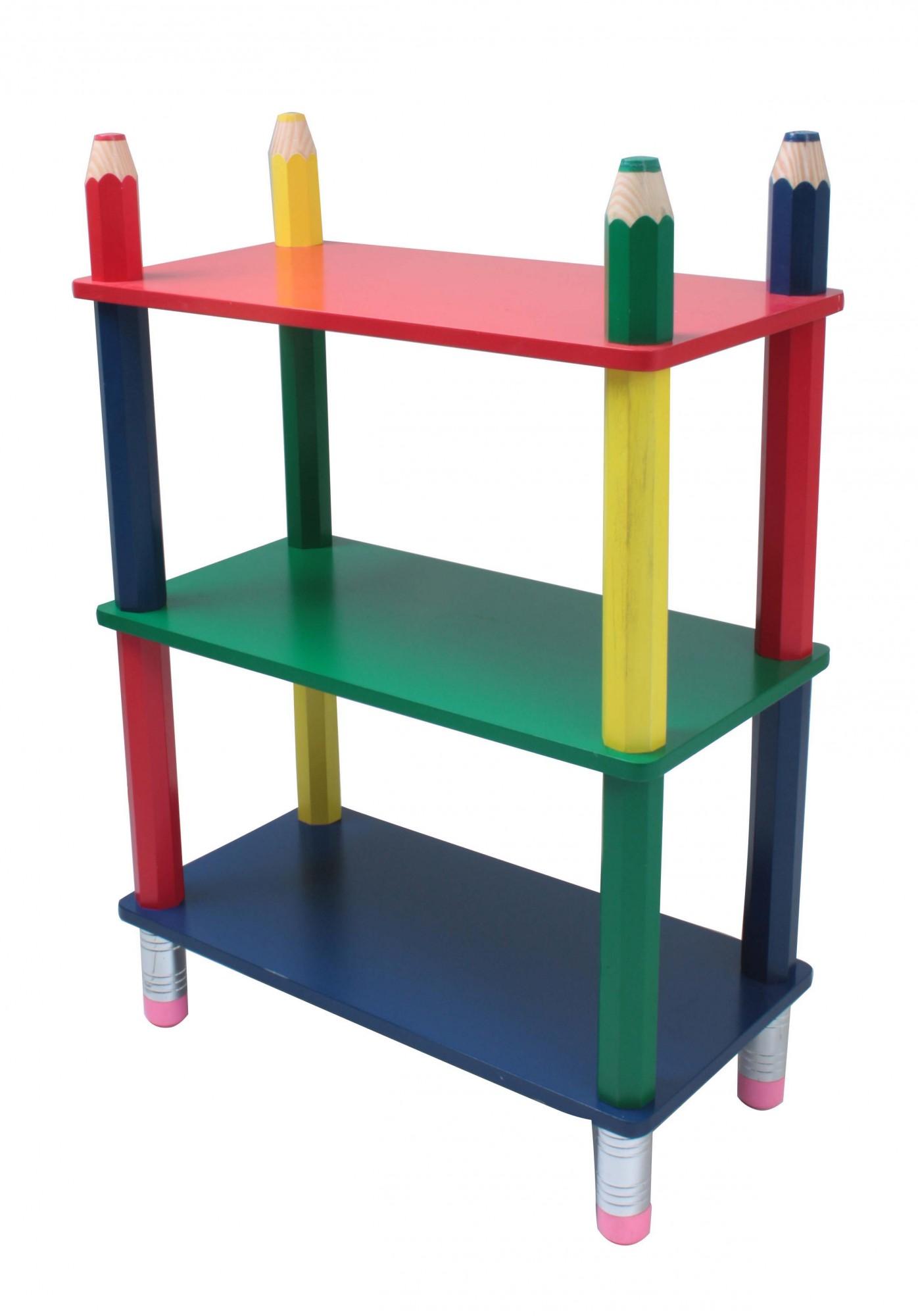 kinderregal kinderm bel kinder regal sideboard kinderzimmer spielzeug holz ebay. Black Bedroom Furniture Sets. Home Design Ideas