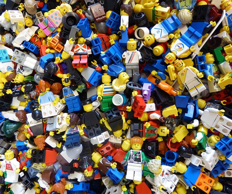 LEGO treasure trove