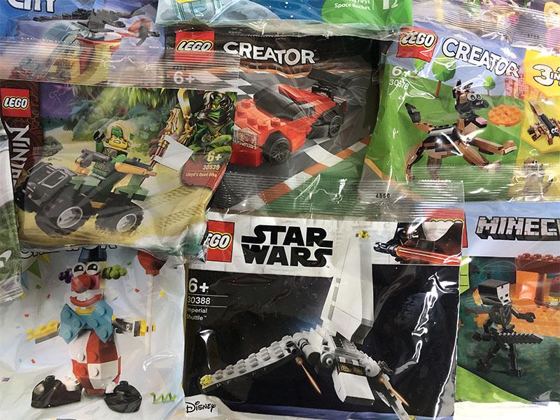 LEGO Polybags zum Sammeln