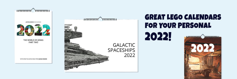 LEGO Calender & Postcards