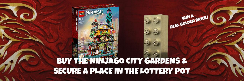 LEGO® 71741 The Gardens of NINJAGO® City