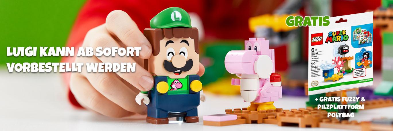 LEGO Super Mario 71387 Abenteuer mit Luigi Starterset