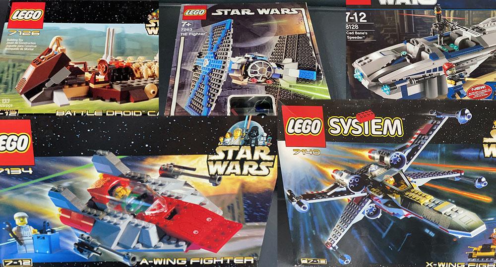 alte LEGO Star Wars Sets und mehr