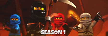 LEGO Ninjago Staffel 1