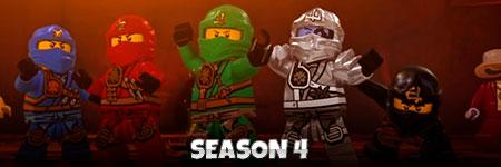 LEGO Ninjago Staffel 4