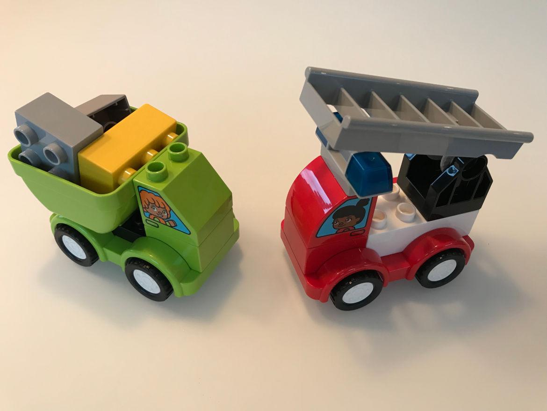 Meine ersten Fahrzeuge fertige Autos