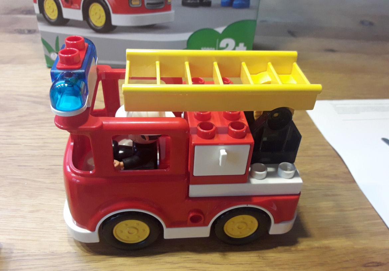 Fertiger Feuerwehrwagen