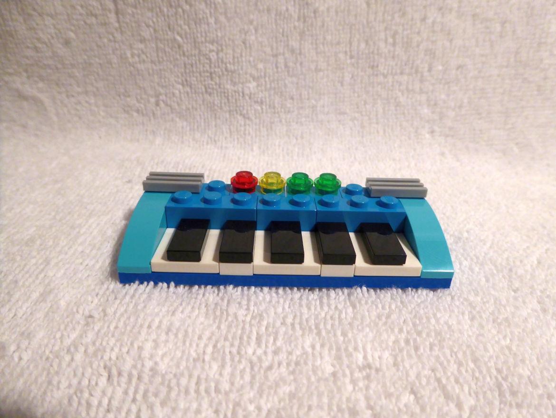 Erster Bauspaß blaues Keyboard