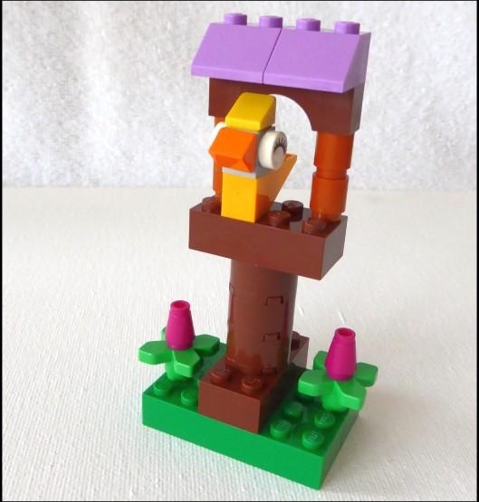 Ein Vogelhaus