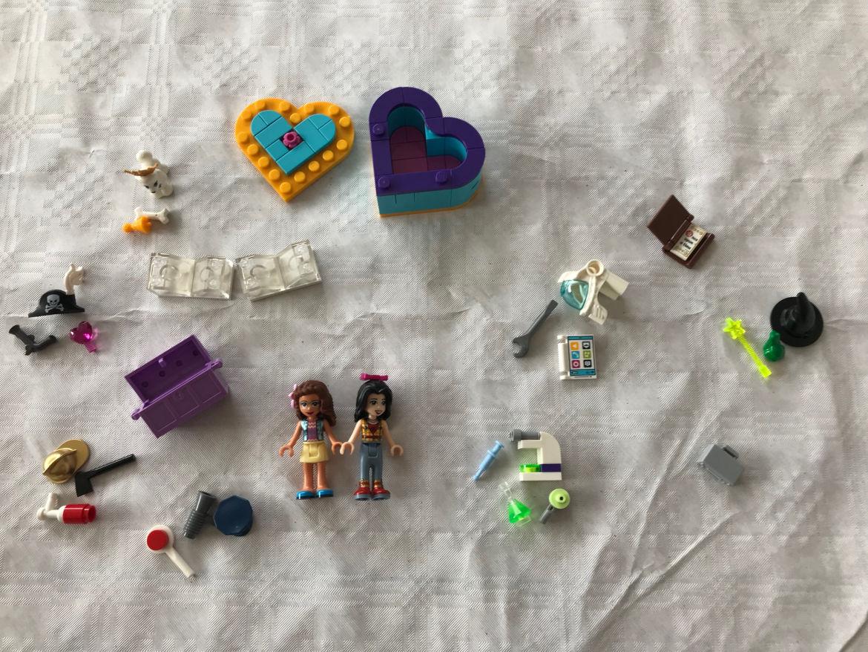 Herzbox-Freundschaftsset Zubehör